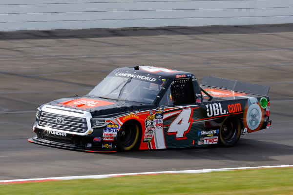 NASCAR Camping World Truck Series Drivin? For Linemen 200 Gateway Motorsports Park, Madison, IL USA Saturday 17 June 2017 Christopher Bell, JBL Toyota Tundra World Copyright: Russell LaBounty LAT Images
