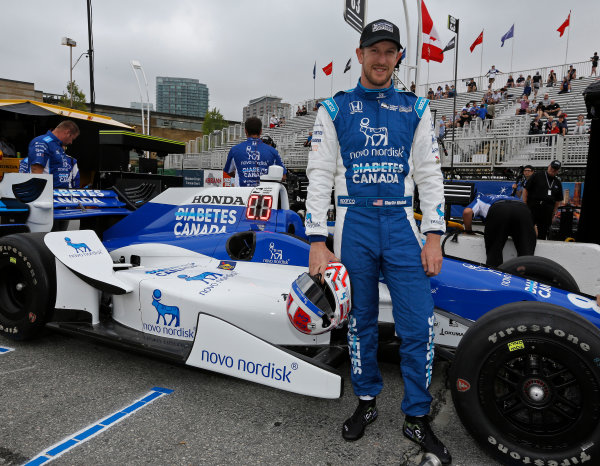 Verizon IndyCar Series Honda Indy Toronto Toronto, ON CAN Friday 14 July 2017 Charlie Kimball, Chip Ganassi Racing Teams Honda World Copyright: Phillip Abbott LAT Images ref: Digital Image abbott_toronto_0717_0018