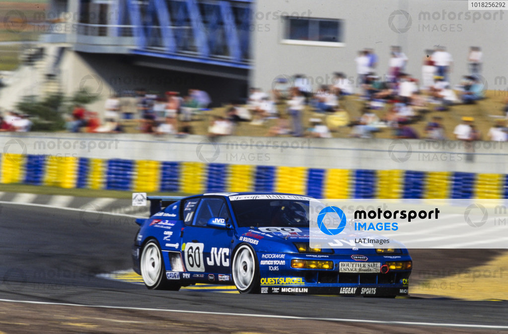Benjamin Roy / Luc Galmard / Jean-Claude Police, Legeay Sports Mécanique, Alpine A610 Turbo Renault.