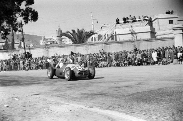 Juan Jover, Maserati 4CLT/48.