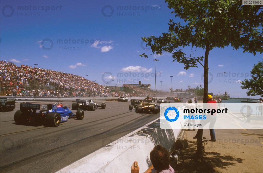 1984 United States Grand Prix East.