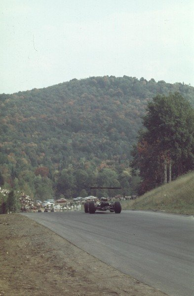 1968 Canadian Grand Prix.Mont-Tremblant, (St. Jovite), Quebec, Canada.20-22 September 1968.Graham Hill (Lotus 49B Ford) 4th position.Ref-68 CAN 10.World Copyright - LAT Photographic