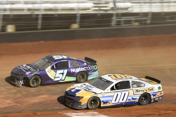 #00: Quin Houff, StarCom Racing, Chevrolet Camaro Mane 'n Tail, #51: Cody Ware, Petty Ware Racing, Chevrolet Camaro NURTEC ODT