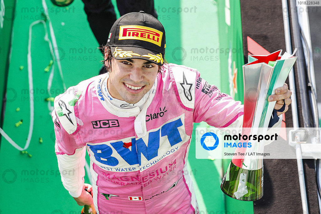 Lance Stroll, Racing Point, 3rd position,