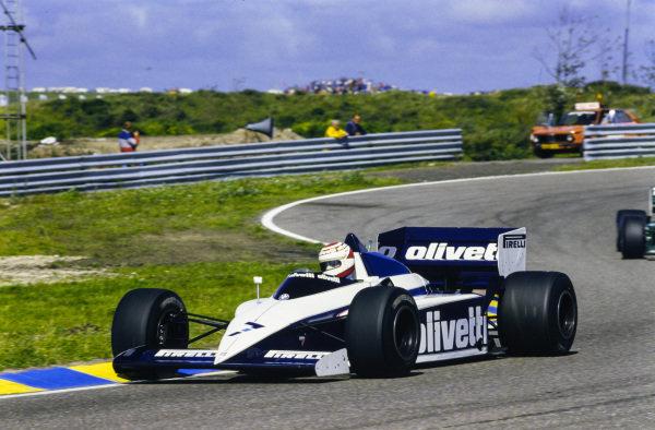 Nelson Piquet, Brabham BT54 BMW.