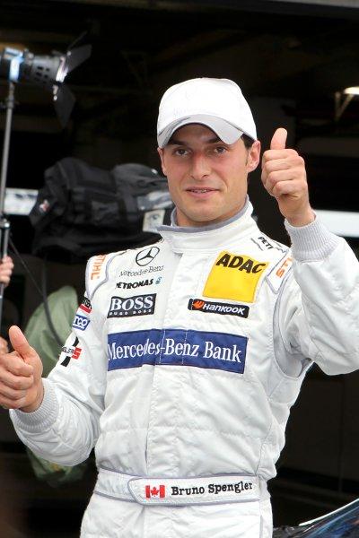 Bruno Spengler (CDN), Mercedes-Benz Bank AMG.DTM, Rd6, Nurburgring, Germany, 6-7 August 2011.World Copyright: LAT Photographicref: Digital Image dne1106au27