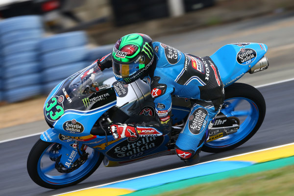 2017 Moto3 Championship - Round 5 Le Mans, France Saturday 20 May 2017 Enea Bastianini, Estrella Galicia 0,0 World Copyright: Gold & Goose Photography/LAT Images ref: Digital Image 671097
