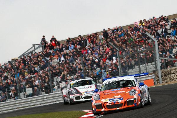 2017 Porsche Carrera Cup GB Brands Hatch, 1st-2nd April 2017 Dan Cammish  World Copyright. JEP/LAT Images