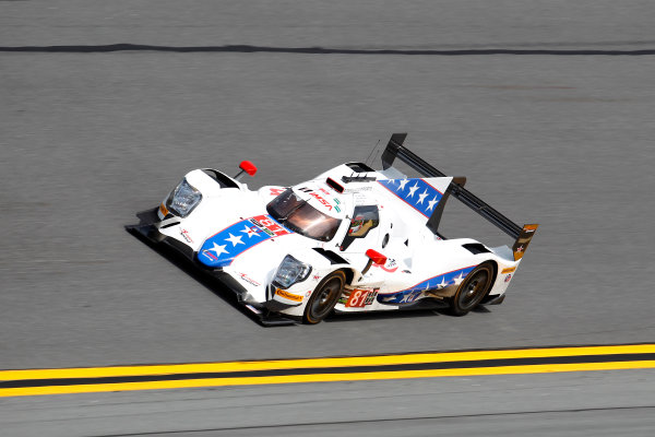 2017 Rolex 24 Hours. Daytona, Florida, USA Thursday 26 January 2017. #81 DragonSpeed ORECA 07: Henrik Hedman, Nicolas Lapierre, Ben Hanley, Loic Duval World Copyright: Alexander Trienitz/LAT Images ref: Digital Image 2017-24h-Daytona-AT2-0641