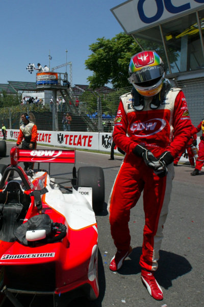 Justin Wilson (GBR), RuSPORT, finished second.Champ Car World Series, Rd3, Tecate Grand Prix, Fundidora Park, Monterrey, Mexico, 19-21 May 2006.DIGITAL IMAGE