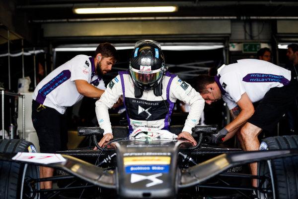 FIA Formula E Second Pre-Season Testing Event. Jose Maria Lopez, DS Virgin Racing, Spark-Citroen. Donington Park Racecourse, Derby, United Kingdom. Wednesday 7 September 2016. Photo: Adam Warner / LAT ref: Digital Image _14P4294