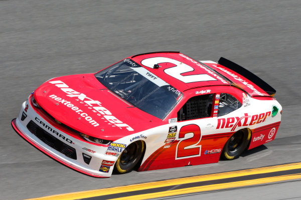 NASCAR Xfinity Series PowerShares QQQ 300 Daytona International Speedway, Daytona Beach, FL USA Friday 16 February 2018 Matt Tifft, Richard Childress Racing, Nexteer Chevrolet Camaro World Copyright: Matthew T. Thacker LAT Images