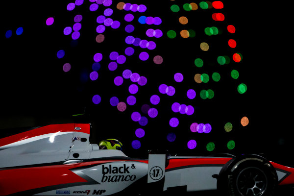2015 GP2 Series Test 3. Yas Marina Circuit, Abu Dhabi, United Arab Emirates. Thursday 3 December 2015. Nick Yelloly (GBR, MP Motorsport). World Copyright: Zak Mauger/LAT Photographic. ref: Digital Image _L0U3389