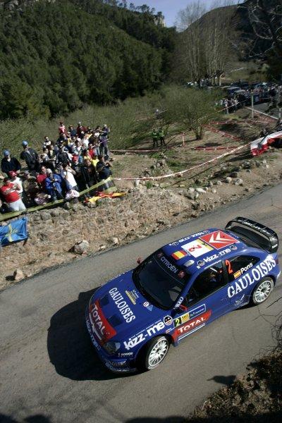 2006 FIA World Rally Champs. Round four Rally Catalunya Spain. 24-26th March 2006 Sebastaian Loeb, Citroen, action.World Copywright: Mcklein/LAT