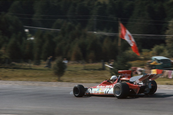 1972 Canadian Grand Prix.  Mosport, Canada. 22-24th September 1972.  Bill Brack, BRM P180.  Ref: 72CAN27. World Copyright: LAT Photographic