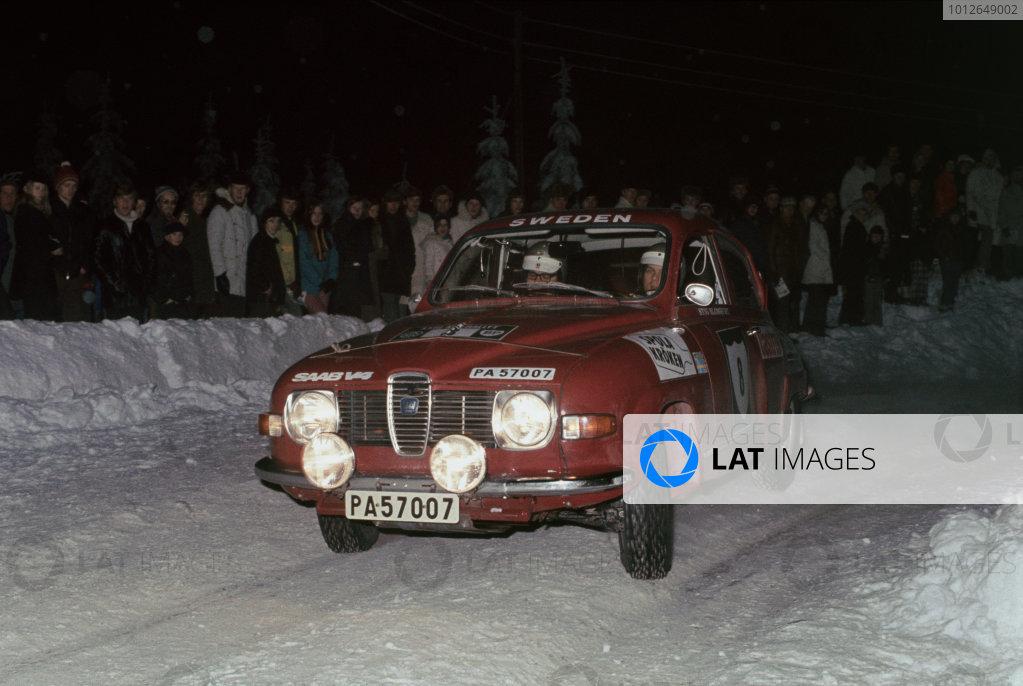 1972 Swedish Rally.
