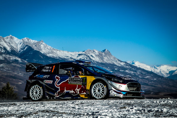 2017 FIA World Rally Championship,  Round 01, Rally Monte Carlo,  January 18-22, 2017,  Sebastien Ogier/Julien Ingrassia (Ford Fiesta WRC) Worldwide Copyright: McKlein/LAT
