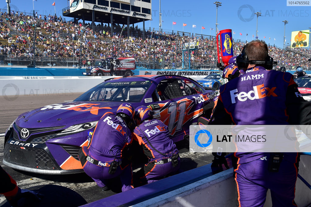 2017 Monster Energy NASCAR Cup Series Camping World 500 Phoenix International Raceway, Avondale, AZ USA Sunday 19 March 2017 Denny Hamlin, FedEx Freight Toyota Camry World Copyright: Rusty Jarrett/LAT Images ref: Digital Image 17PHX1rj_3067