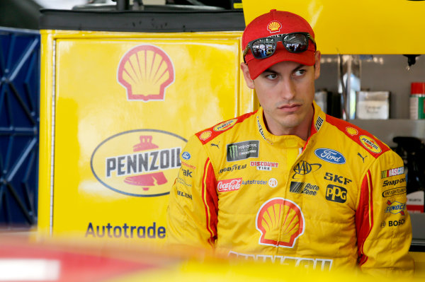 Monster Energy NASCAR Cup Series Monster Energy NASCAR All-Star Race Charlotte Motor Speedway, Concord, NC USA Friday 19 May 2017 Joey Logano, Team Penske, Shell Pennzoil Ford Fusion World Copyright: Matthew T. Thacker LAT Images ref: Digital Image 17CLT1mt1133
