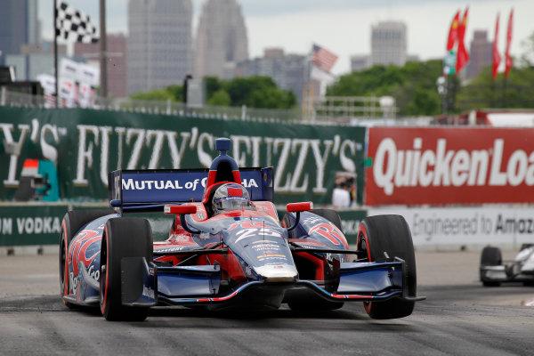 1 June, 2013, Detroit, Michigan, USA Marco Andretti ©2013, Todd Davis LAT Photo USA