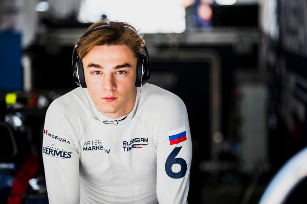 2017 FIA Formula 2 Round 4. Baku City Circuit, Baku, Azerbaijan. Friday 23 June 2017. Artem Markelov (RUS, RUSSIAN TIME)  Photo: Zak Mauger/FIA Formula 2. ref: Digital Image _56I6720