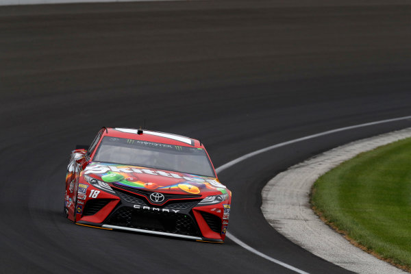 Monster Energy NASCAR Cup Series Brickyard 400 Indianapolis Motor Speedway, Indianapolis, IN USA Saturday 22 July 2017 Kyle Busch, Joe Gibbs Racing, Skittles Toyota Camry World Copyright: Michael L. Levitt LAT Images