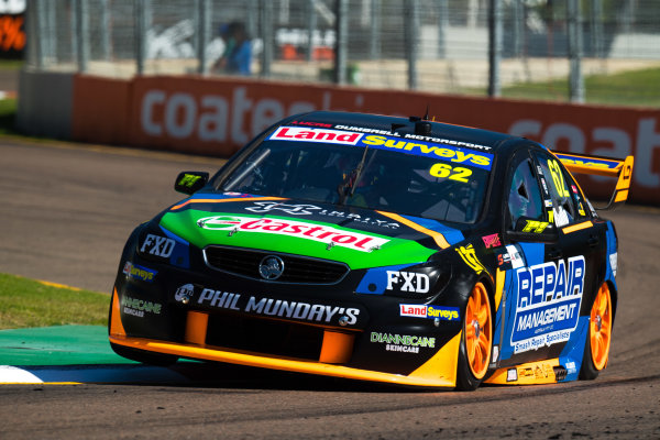 2017 Supercars Championship Round 7.  Townsville 400, Reid Park, Townsville, Queensland, Australia. Friday 7th July to Sunday 9th July 2017. Alex Rullo drives the #62 LD Motorsport Holden Commodore VF. World Copyright: Daniel Kalisz/ LAT Images Ref: Digital Image 070717_VASCR7_DKIMG_355.jpg