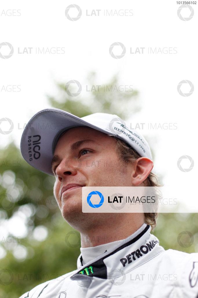 Albert Park, Melbourne, Australia 24th March 2011. Nico Rosberg, Mercedes GP W02. Portrait.  World Copyright: Andrew Ferraro/LAT Photographic ref: Digital Image _Q0C7031