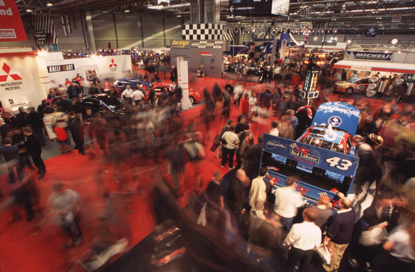 2001 Autosport International Show. NEC, Birmingham, England. 11th - 14th January 2001. World Copyright - Dixon / LAT Photographic ref: 01show21