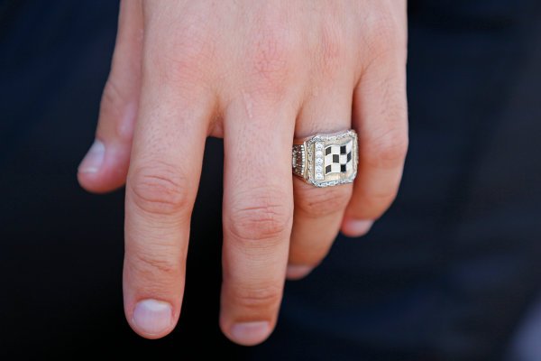 7-9 May, 2015, Indianapolis, Indiana, USA Helio Castroneves Indy 500 ring ?2015, Gregg Ellman LAT Photo USA