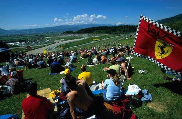 Austrian Grand Prix fans.