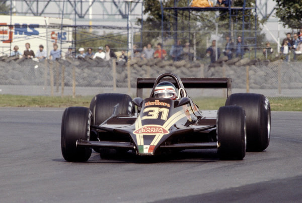 1979 Canadian Grand Prix.Montreal, Quebec, Canada.28-30 September 1979.Hector Rebaque (Rebaque HR100 Ford).Ref-79 CAN 28.World Copyright - LAT Photographic