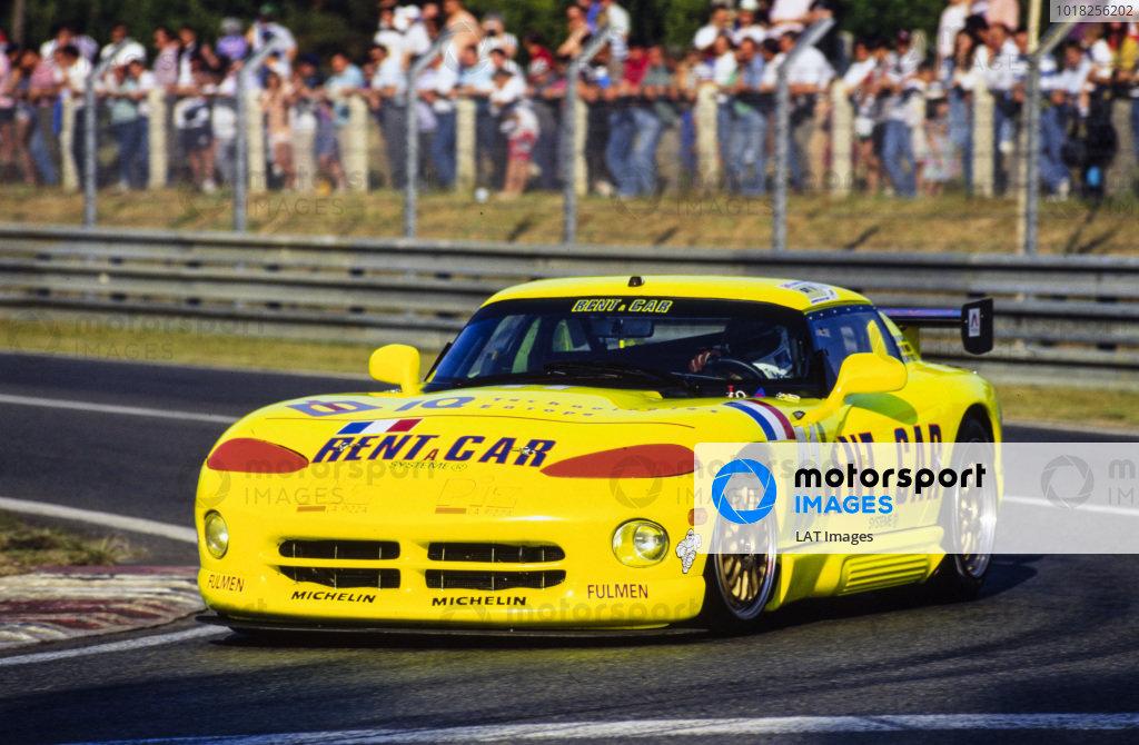 Francois Migault / Denis Morin / Philippe Gache, Rent-a-Car Racing Team, Dodge Viper R/T 10.