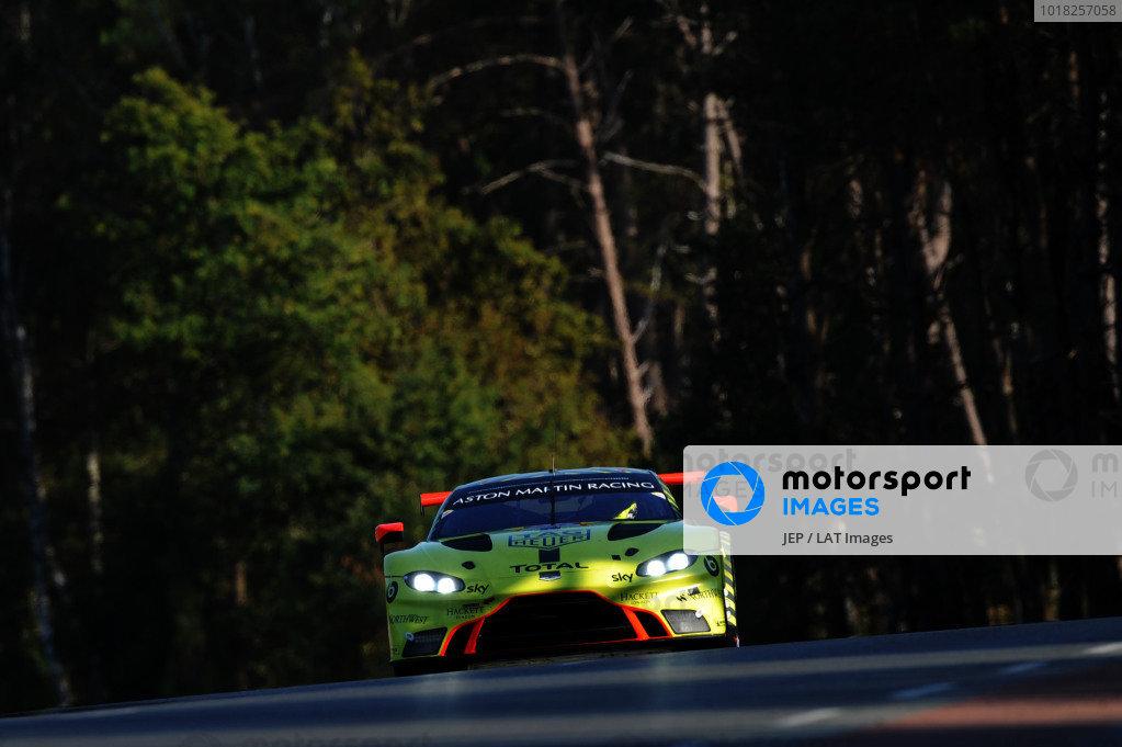#95 Aston Martin Racing Aston Martin Vantage AMR: Nicki Thiim / Marco Sorensen / Richard Westbrook