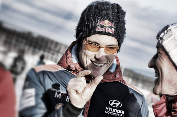 Thierry Neuville (BEL), Hyundai Motorsport WRC at World Rally Championship, Rd2, Rally Sweden, Day Three, Karlstad, Sweden, 12 February 2017.