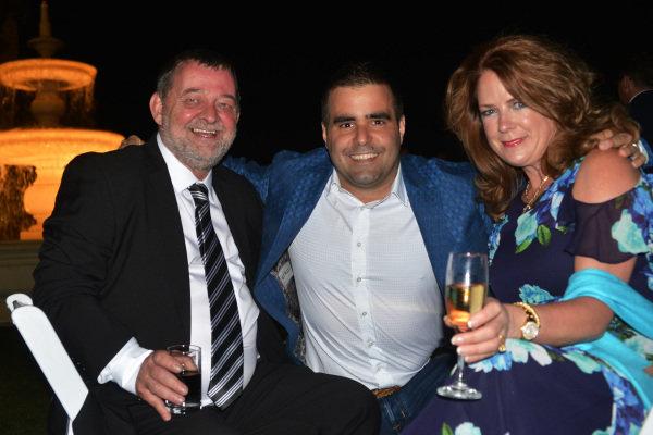 Paul Stoddart (AUS) and Zsolt Baumgartner (HUN) at Official Grand Prix Welcome Reception at Government House at Formula One World Championship, Rd1, Australian Grand Prix, Preparations, Albert Park, Melbourne, Australia, Thursday 23 March 2017.