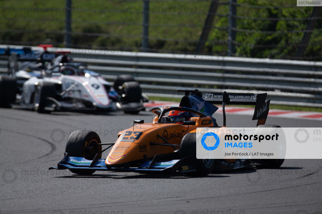HUNGARORING, HUNGARY - AUGUST 04: Alexander Peroni (AUS, Campos Racing) during the Hungaroring at Hungaroring on August 04, 2019 in Hungaroring, Hungary. (Photo by Joe Portlock / LAT Images / FIA F3 Championship)