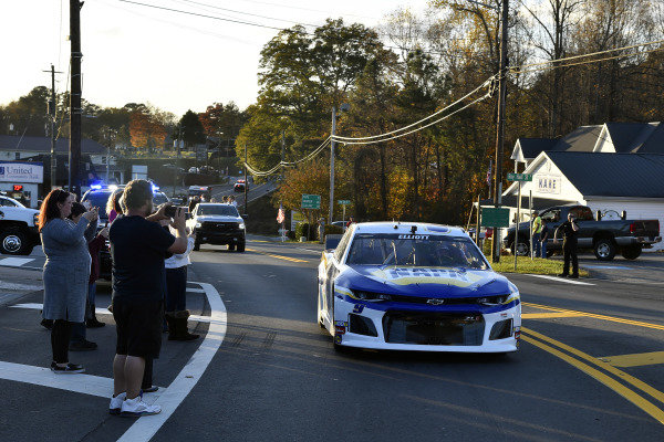 #9: Chase Elliott, Hendrick Motorsports, Chevrolet Camaro NAPA Auto Parts returns home to Dawsonville, GA after winning the 2020 NASCAR Cup Series Championship