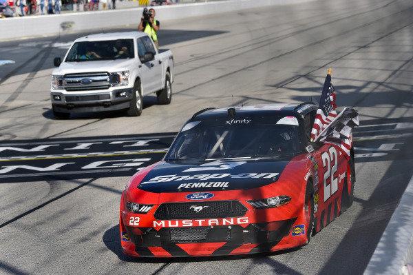 #22: Brad Keselowski, Team Penske, Ford Mustang Snap-On