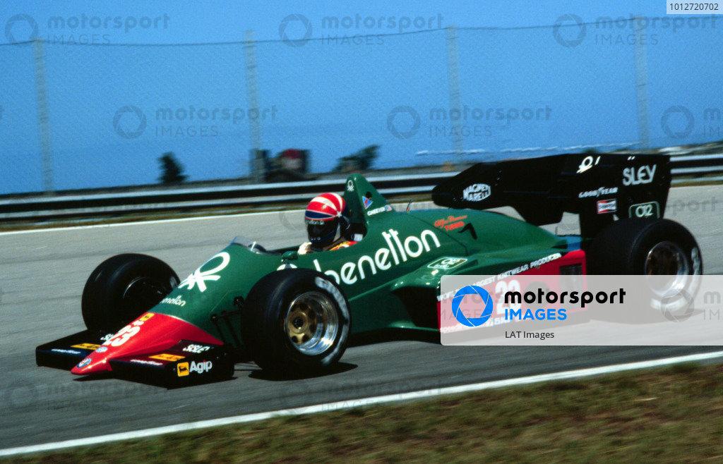 1984 Brazilian Grand Prix.