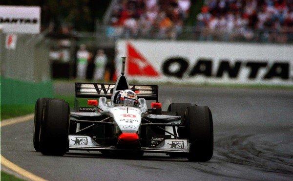 1997 Australian Grand Prix. Albert Park, Melbourne, Australia. 7-9 March 1997. David Coulthard (McLaren MP4/12 Mercedes-Benz), 1st position. World Copyright - LAT Photographic