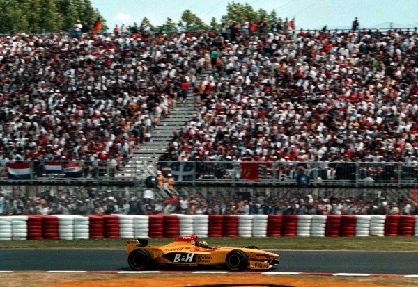 1997 Canadian Grand Prix.Montreal, Quebec, Canada.13-15 June 1997.Ralf Schumacher (Jordan 197 Peugeot).World Copyright - LAT Photographic