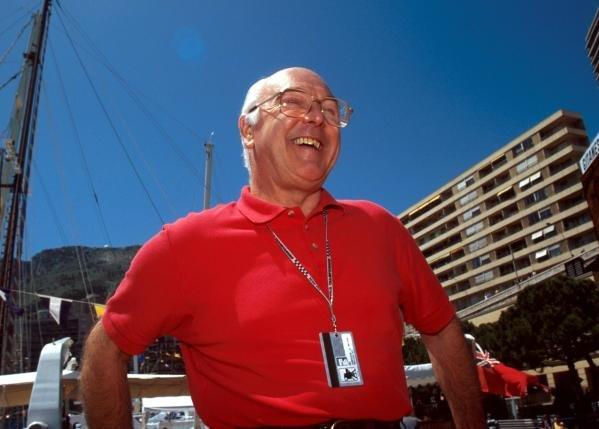 BBC TV Commentator Murray Walker (GBR).  Monaco Grand Prix, Monte Carlo, 23 May 1993