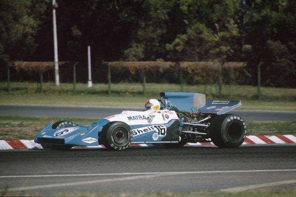 1972 Argentinian Grand Prix.  Buenos Aires, Argentina. 21-23rd January 1972.  Chris Amon, Matra-Simca MS120C.  Ref: 72ARG34. World Copyright: LAT Photographic