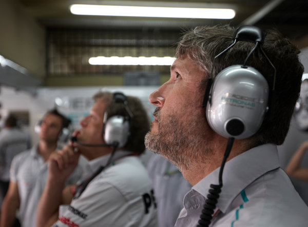 Interlagos, Sao Paulo, Brazil. 26th November 2011. Nick Fry, CEO, Mercedes GP. Portrait.  World Copyright: Steve Etherington/LAT Photographic ref: Digital Image SNE24804