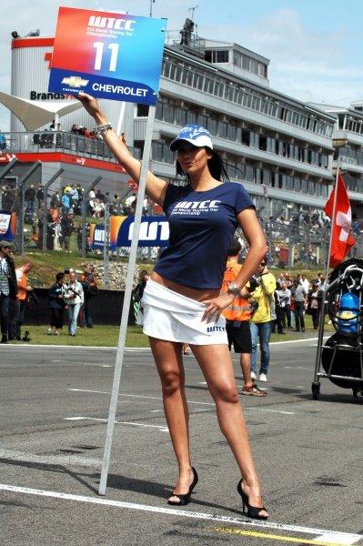 Mel Dowding (GBR). FIA World Touring Car Championship, Rd8, Brands Hatch, England, 19 July 2009.