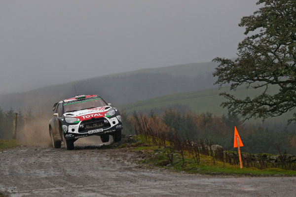 2015 World Rally Championship, Round 13, Rally of Wales GB, 12th - 15th November, 2015 Kris Meeke, DS, action  Worldwide Copyright: McKlein/LAT