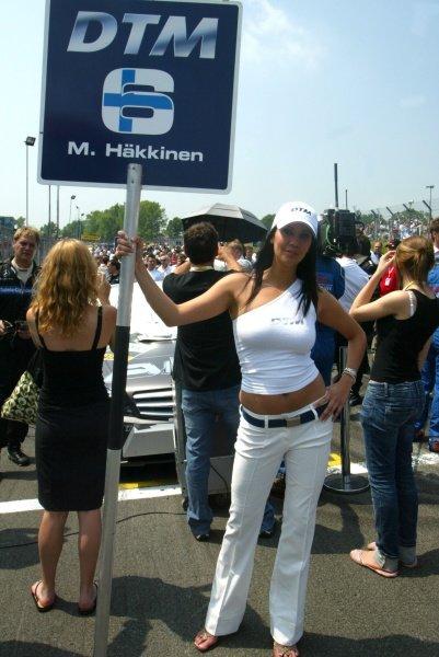 The car of Mika Hakkinen (FIN) AMG Mercedes DTM Championship, Brands Hatch, England.10th June 2007DIGITAL IMAGE