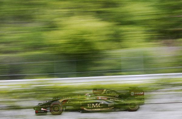 Circuit Gilles Villeneuve, Montreal, Canada. Friday 6 June 2014. Romain Grosjean, Lotus E22 Renault. World Copyright: Steven Tee/LAT Photographic. ref: Digital Image _L4R8199