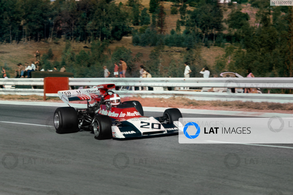 Kyalami, South Africa. 1-3 March 1973.Jackie Pretorius (Williams FX3B-Ford), retired, action.World Copyright: LAT PhotographicRef: 35mm transparency.